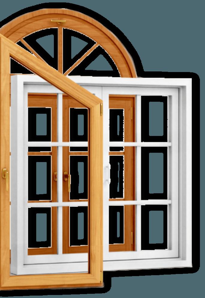 dřevěná okna na zakázku Techies world s.r.o., Heřmanice